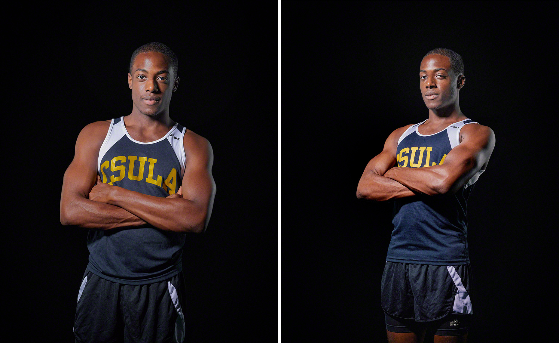 CSULA Track and Field Portrait