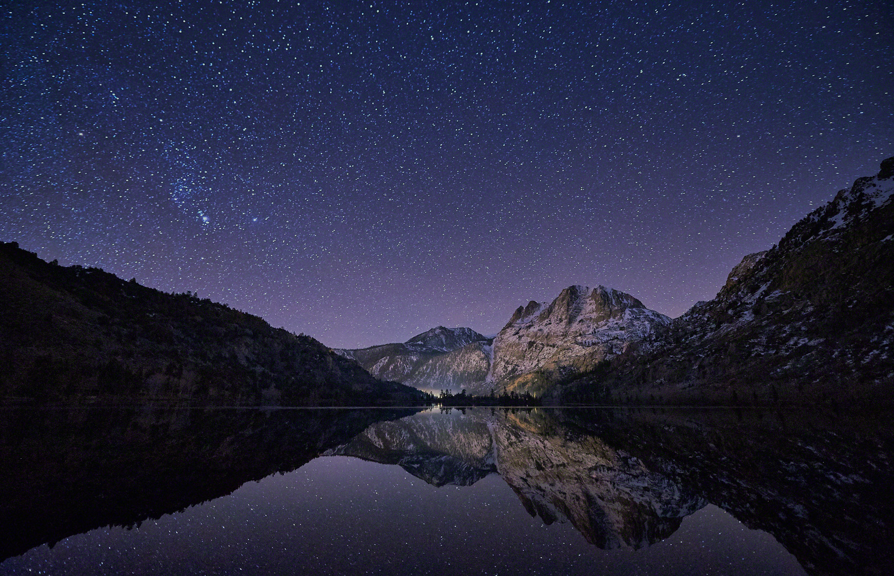 Silver Lake Stars and Mountains